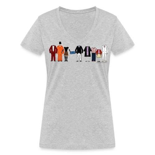 Arrested Development Bluth Familie - Frauen Bio-T-Shirt mit V-Ausschnitt von Stanley & Stella