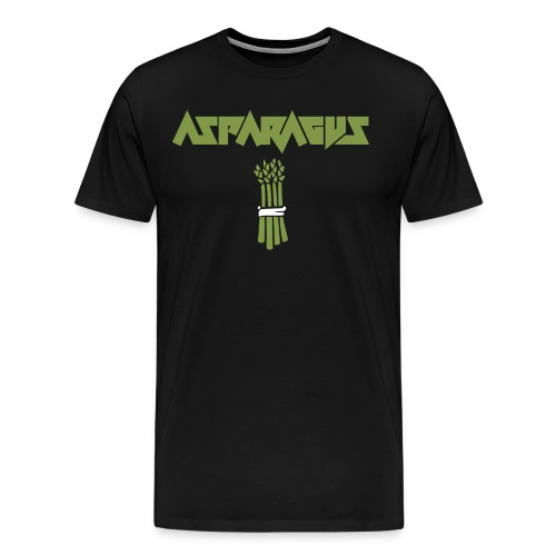 ASPARAGUS LOGO - Premium-T-shirt herr