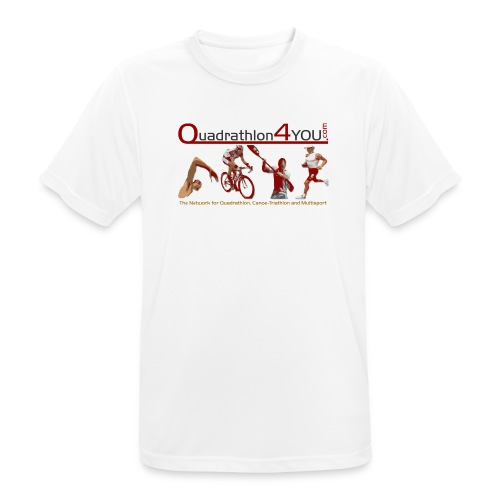 Q4U Funktionsshirt - Men's Breathable T-Shirt