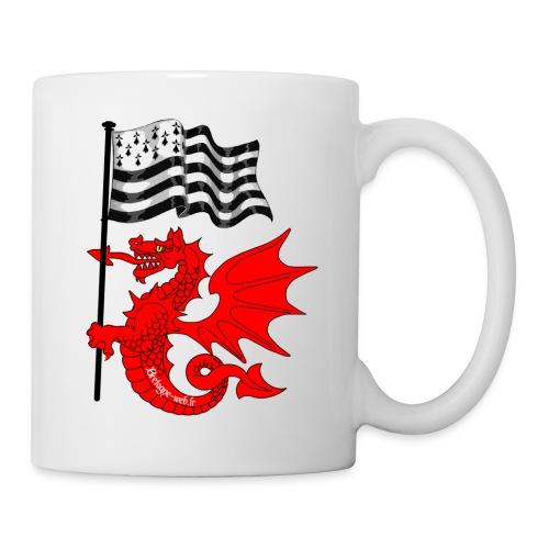 tasse Dragon_Gwen_Ha_Du - Mug blanc