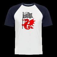 Tee shirts ~ Tee shirt baseball manches courtes Homme ~ Dragon_Gwen_Ha_Du 5