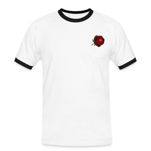 Rosa tee shirt - T-shirt contrasté Homme