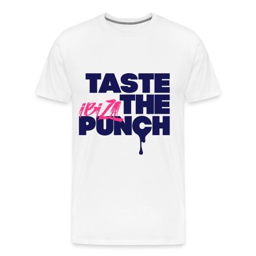 Taste The Punch Ibiza Tee - 2017 Premium Tee In White - Men's Premium T-Shirt