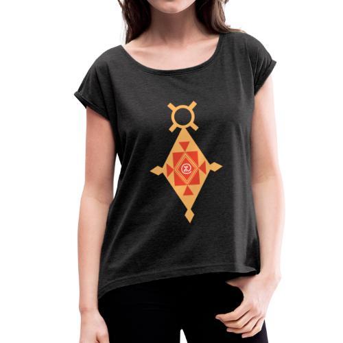 Étoile du Sud Berbère - T-shirt à manches retroussées Femme