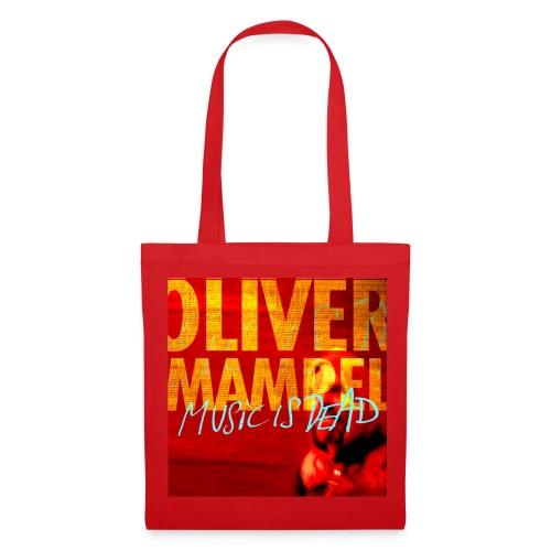 Oliver Mampel music is dead - Stoffbeutel