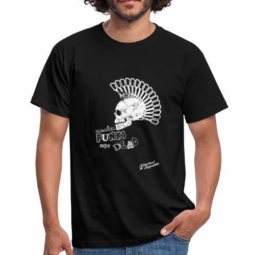 Climbing punks not dead ! - T-shirt Homme
