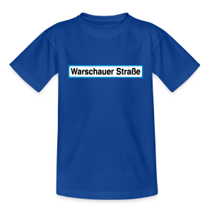 Warschauer Straße Berlin - Teenager T-Shirt