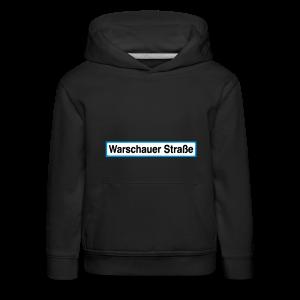 Warschauer Straße Berlin - Kinder Premium Hoodie