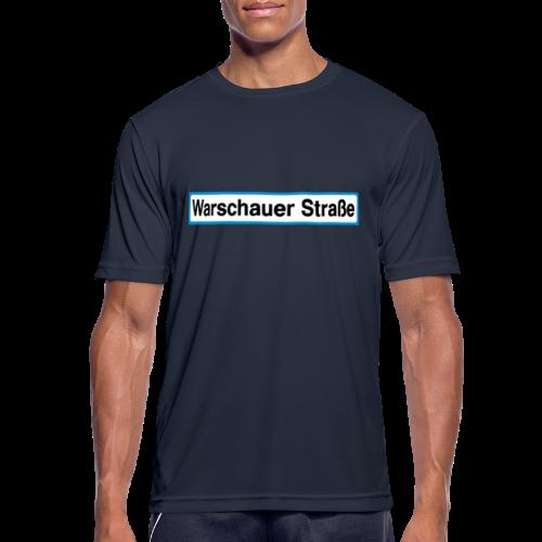 Warschauer Straße Berlin - Männer T-Shirt atmungsaktiv