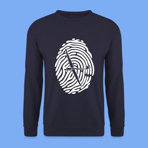 fingerprint glider - Men's Sweatshirt