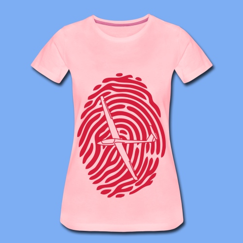 fingerprint glider - Women's Premium T-Shirt