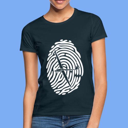 fingerprint glider - Women's T-Shirt
