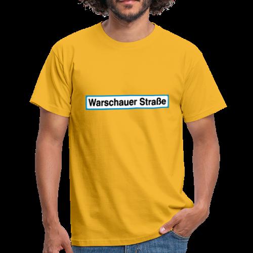 Warschauer Straße Berlin - Männer T-Shirt