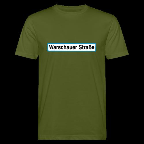 Warschauer Straße Berlin - Männer Bio-T-Shirt