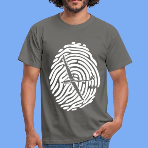 fingerprint glider - Men's T-Shirt