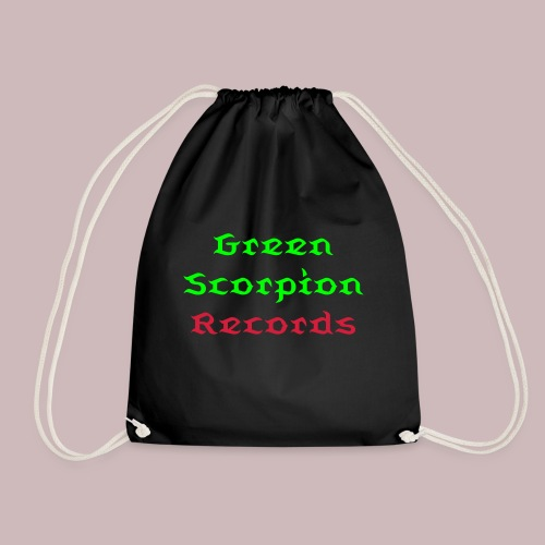''Green Scorpion Records'' Turnbeutel - Turnbeutel