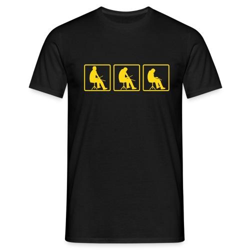 Drummer Inside - Männer T-Shirt