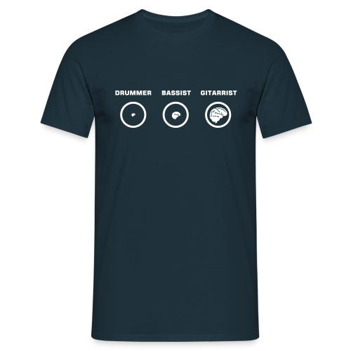 Hirnmasse von Musikern - Männer T-Shirt