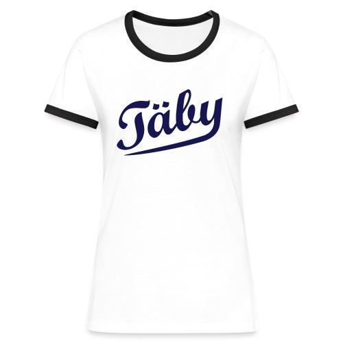 Exclusive Contrast Tee - Kontrast-T-shirt dam