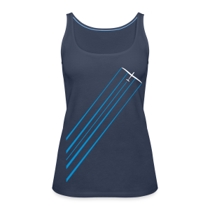 water glider - Frauen Premium Tank Top