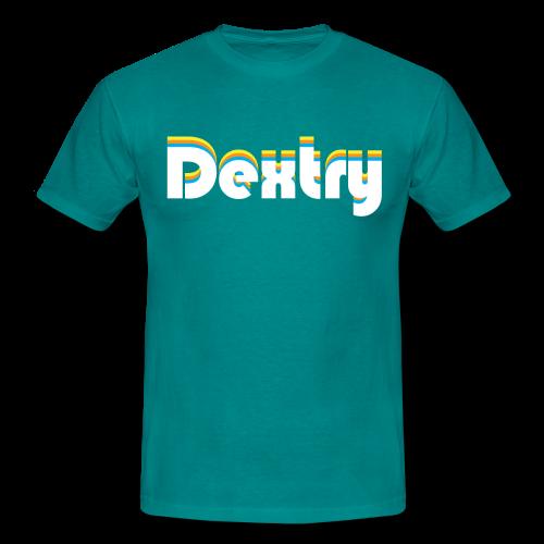 Dextry Retro Neon - Men's T-Shirt