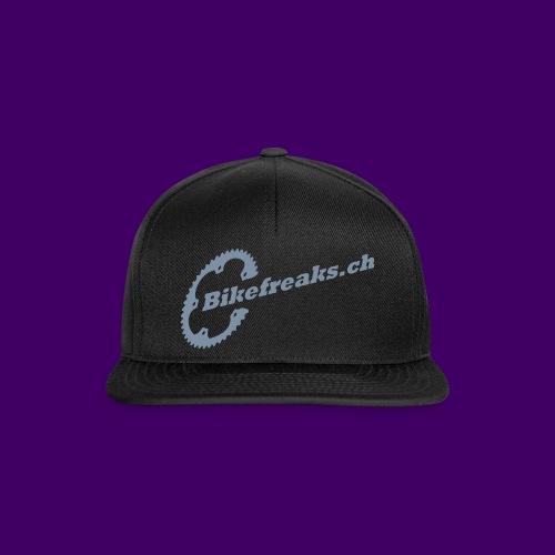 Snapback Cap Silber Serie2 - Snapback Cap