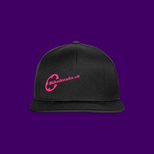 Snapback Cap Pink small Serie2 - Snapback Cap