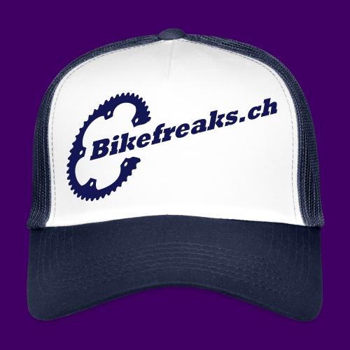 Trucker Cap Blau - Trucker Cap