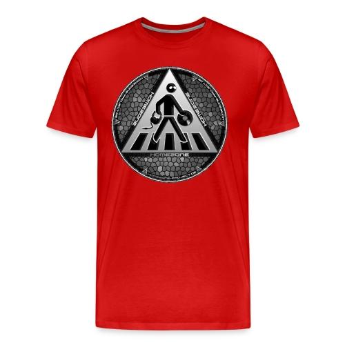 Homezone Grau 02 - Männer Premium T-Shirt