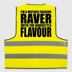 Mother F*cking Raver EDM Quote Vestes et gilets - Gilet de sécurité