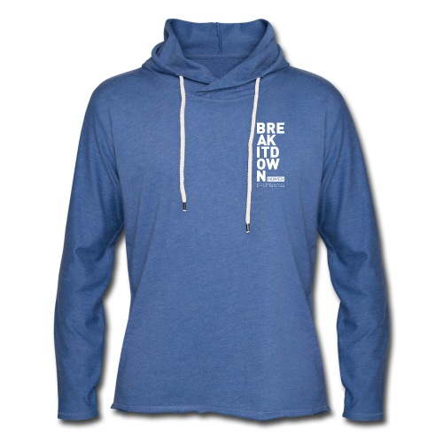 Sweater Blue 2017 - Leichtes Kapuzensweatshirt Unisex