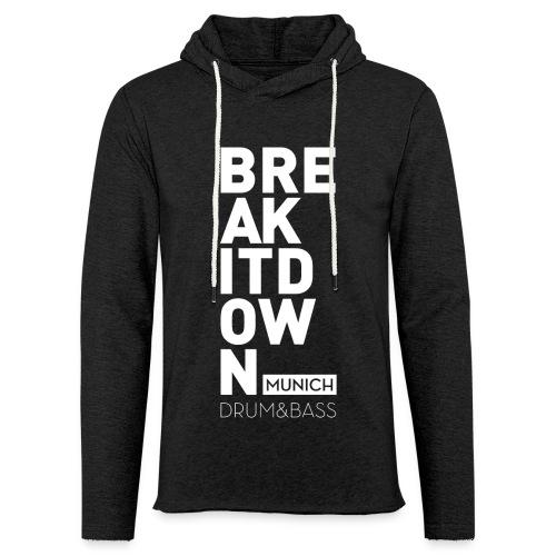 Sweater Anthracite 2017 - Leichtes Kapuzensweatshirt Unisex