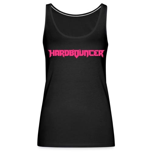 Black/Pink Female Top - Vrouwen Premium tank top