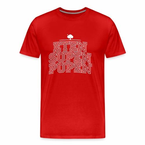 K*PARK S(ch)nack - Eten Supen Pupen - Männer Premium T-Shirt