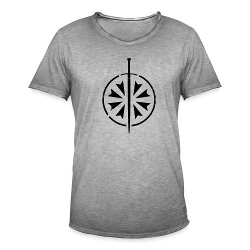 Vintage Shirt Grau - Männer Vintage T-Shirt