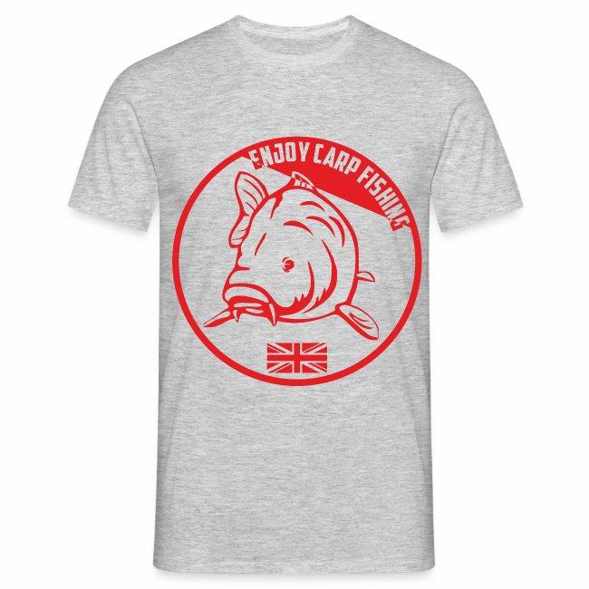 Enjoy Carp Fishing - Red logo