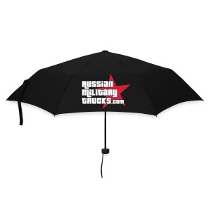 Russian Military Trucks.com Green Umbrella - Umbrella (small)