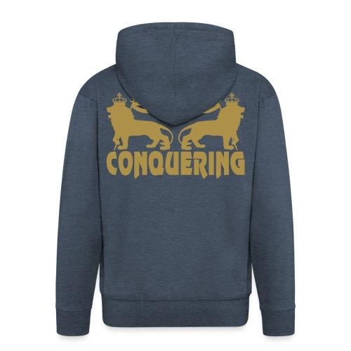 CONQUERING GOLD - Veste à capuche Premium Homme