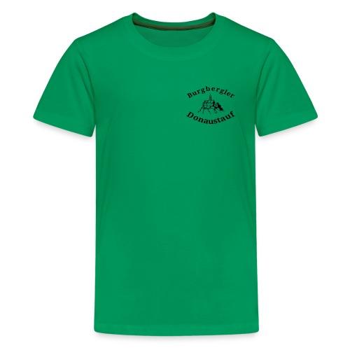 Teenager Premium T-Shirt Burgbergler Donaustauf - Teenager Premium T-Shirt
