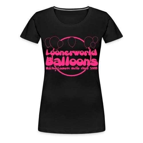 Girl Tee (Pink Logo) - Frauen Premium T-Shirt