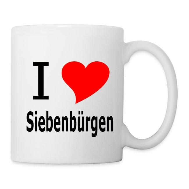 """Tasse """"I love Siebenbürgen"""" - Siebenbürgen - Transylvania - Erdely - Ardeal"""