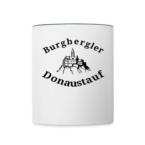 Tasse Burgbergler Donaustauf - Tasse zweifarbig