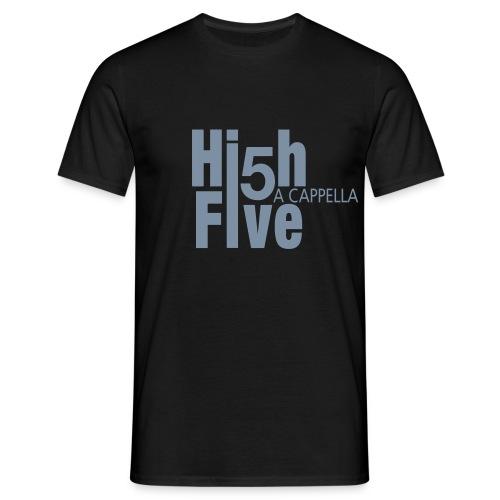 T-Shirt (m) schwarz/silber - Männer T-Shirt
