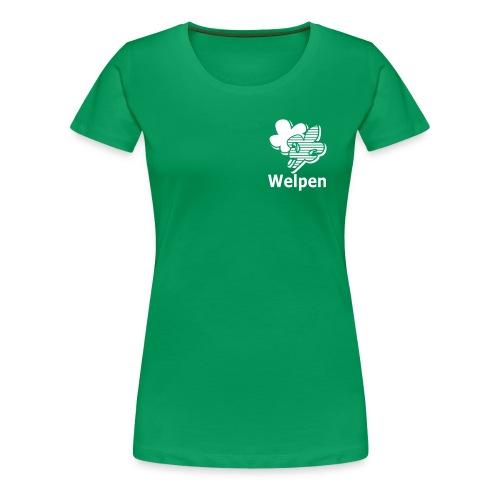 Welpen Leiding dames - Vrouwen Premium T-shirt