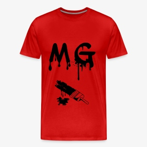 INK DRIP MG MEN'S SHIRT - Men's Premium T-Shirt