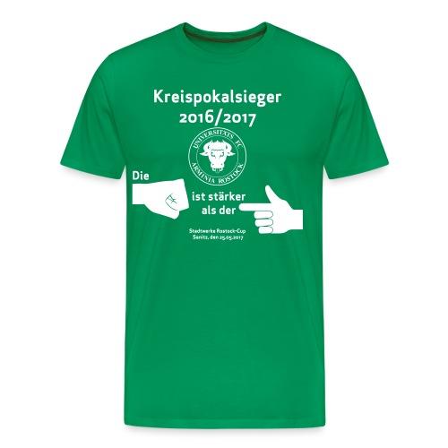 Pokalsieger - Männer Premium T-Shirt