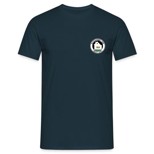 Raschberg.com Logo-shirt (navy) - Männer T-Shirt