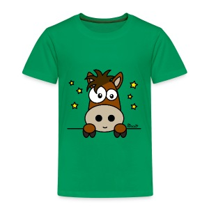T-shirt P Enf 2-8A Poney Club, Équitation, Cheval - T-shirt Premium Enfant