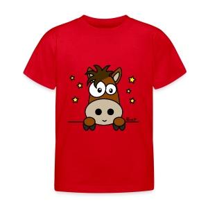 T-shirt BC Enf 2-8A Poney, Club, Équitation, Cheval - T-shirt Enfant