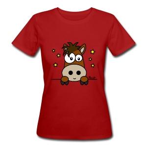T-shirt Bio Femme Poney Club, Équitation, Cheval - T-shirt bio Femme
